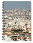 Exiting Lisbon By Plane Spiral Notebook