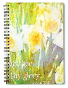 Exodus 33 18 Spiral Notebook