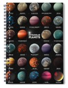 Exoplanets Spiral Notebook