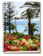 Exotic Beach Spiral Notebook