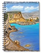 Exotic Beach Near Limassol Spiral Notebook