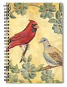 Exotic Bird Floral And Vine 2 Spiral Notebook