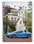 Exotic New Orleans Spiral Notebook