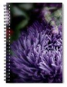 Exotic Purple Flower Spiral Notebook