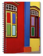 Exotic Singapore Spiral Notebook