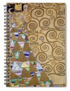 Expectation Preparatory Cartoon For The Stoclet Frieze Spiral Notebook