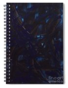 Expectations Blue  Spiral Notebook