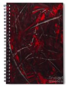 Expectations Red  Spiral Notebook