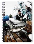 Expedition Great White Crew Conducts Spiral Notebook