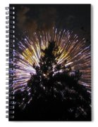 Exploding Tree Spiral Notebook