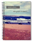 Explore The Great Outdoors Spiral Notebook
