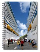Explorer Of The Seas And Adventure Of The Seas Spiral Notebook