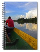 Exploring Amazonia Spiral Notebook