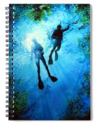 Exploring New Worlds Spiral Notebook