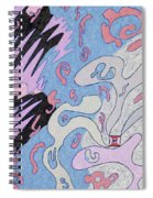 Explosion In Space Spiral Notebook