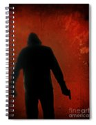 Explosive Spiral Notebook