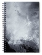 Explosive Sea Spiral Notebook