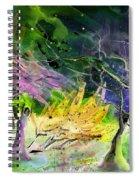 Expulsion Spiral Notebook
