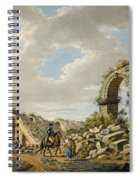 Exterior Of The Ruined Roman Theatre Spiral Notebook