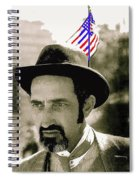 Extra With Flag In Hat The Great White Hope Set Globe Arizona 1969-2008 Spiral Notebook