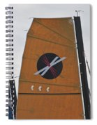 Extreme 40 Sail Detail Spiral Notebook