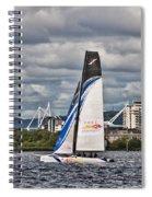 Extreme 40 Team China Spirit Spiral Notebook