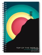 Extreme Disc Golf Spiral Notebook