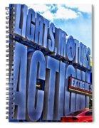 Extreme Stunt Show 1 Spiral Notebook