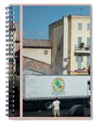 Extreme Stunt Show Walt Disney World 4 Panel Composite Spiral Notebook