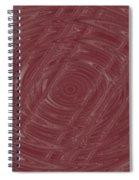 Eye In Vortex Spiral Notebook