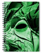 Eye Of The Crystal Dragon Spiral Notebook