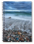 Eye Of The Storm Square Spiral Notebook