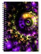 Eye Of The Swirling Dream Spiral Notebook