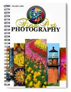 Eye On Fine Art Photography March Cover Spiral Notebook