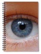 Eye Phone Case Spiral Notebook