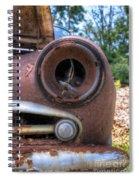 Eye Socket Spiral Notebook