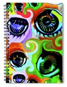Eyecandy Spiral Notebook