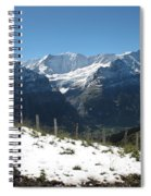 Eyeful Of The Eiger Spiral Notebook