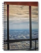 Eyes Down From The 103rd Floor Looking South Spiral Notebook