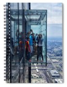 Eyes Down From The 103rd Floor Neighbors Spiral Notebook