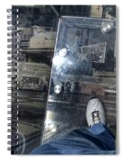Eyes Down From The 103rd Floor One Big Step Spiral Notebook