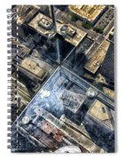 Eyes Down From The 103rd Floor One Small Step Spiral Notebook
