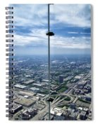 Eyes Down From The 103rd Floor The View From The Ledge Spiral Notebook
