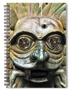 Eyes Of The Beast Spiral Notebook