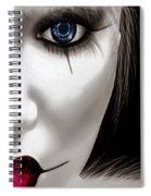 Eyes Of The Fool Spiral Notebook