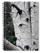 Eyes Of The Trees Spiral Notebook