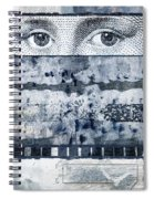 Eyes On Seven Spiral Notebook