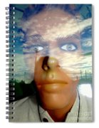 Eyes On The Horizon Spiral Notebook