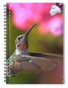 Eyes On White Spiral Notebook