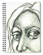 Eyes - The Sketchbook Series Spiral Notebook